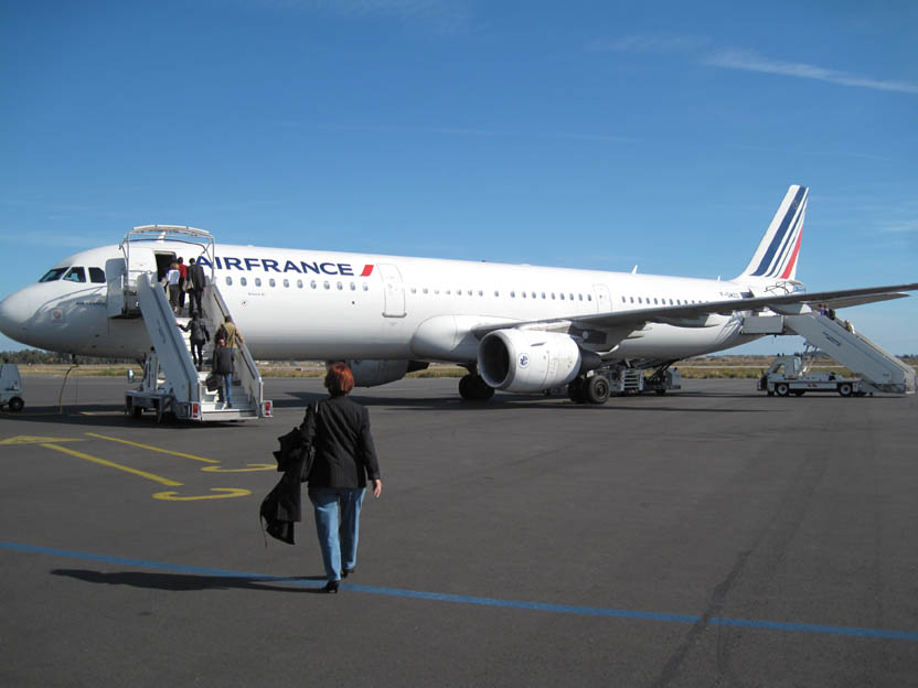 avis sur le vol air france xk7583 de bastia paris orly par tracker 2b. Black Bedroom Furniture Sets. Home Design Ideas